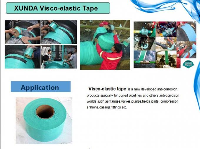 Underground Pipeline Waterproof  Viscoelastic Coating Materials for Corrosion Prevention