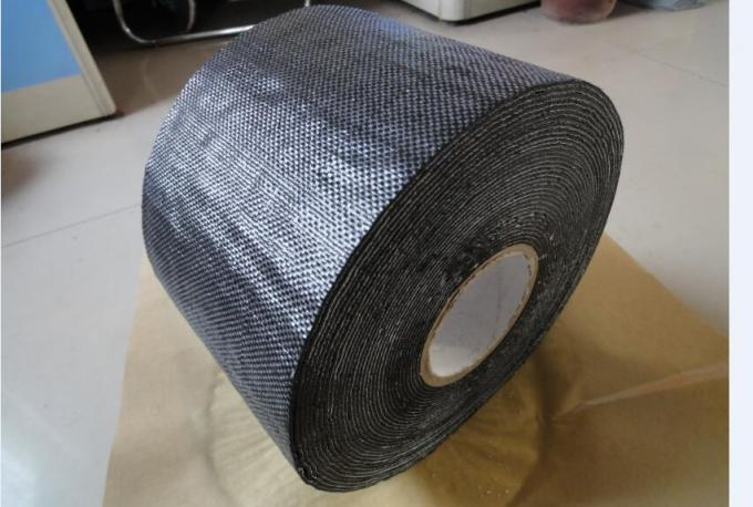 Woven Polypropylene Tape , Self Adhesive Bitumen Tape 1.27 Mm Thickness 150 Mm Wide
