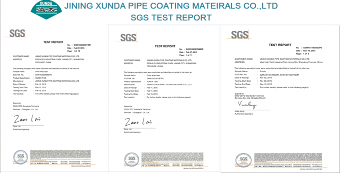 Buried Pipeline Butyl Rubber Tape For Pipe Wrapping Coating Rustproofing Material