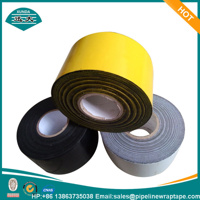 China Similar Polyken Steel Pipeline Corrosion Protection Coating Tape PE Backing Butyl Rubber supplier