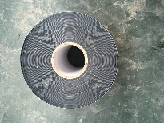 Polyethylene bitumen Wrap tape for Buried Pipe 1.65 mm thickness,225 mm wdith