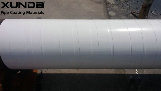 China T265 4 inch White outer wrapping tape with butyl rubber adhesive , corrosion protection supplier
