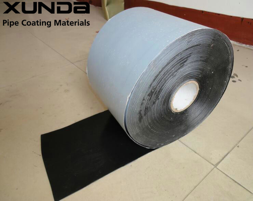 China Butyl Rubber Modify Welding Self Adhesive Bitumen Tape similar With Denso Brand supplier