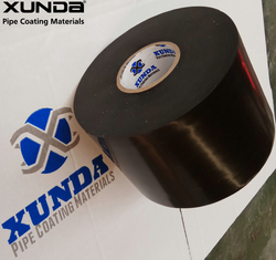 China Black Or White Ldpe & Hdpe Pipe Coating Tape , Pipe Wrapping Coating Material supplier