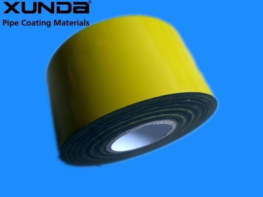 EN 12068 Polyethylene Corrosion Resistant Tape / Yellow Pipe Wrapping Tape