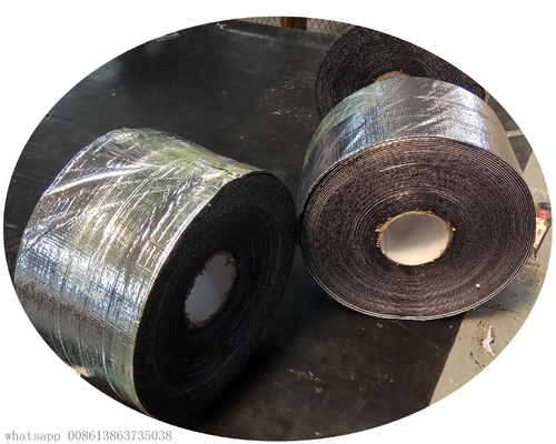 Polypropylene Fiber Reinforced Aluminium Foil Waterproof Sealing Tape For Construction