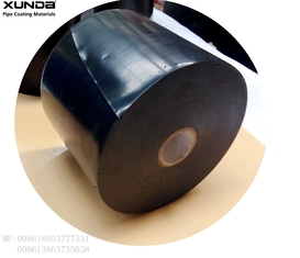 T140 T150 T165  Pipe Coating Tape System , Polyethylene Anti Corrosive Tape Export To Iraq