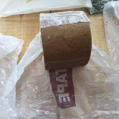 Brown Petroleum Tape For Wrapping Pipes And Fittings Standard AWWA C 217 EN 12068