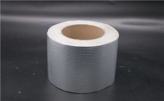 Foil Butyl Rubber Waterproof Duct Tape Sliver Color Aluminium 10m-60 M Length