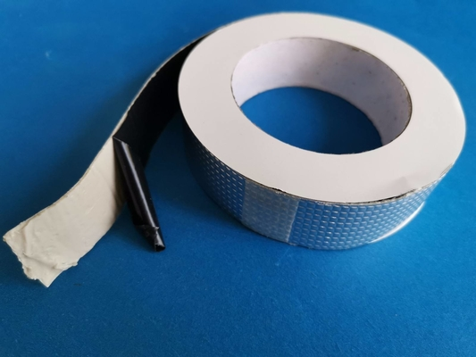 Self Adhesive Butyl Rubber Waterproof Flashing Tape Aluminium Foil 10 M -50 M Length