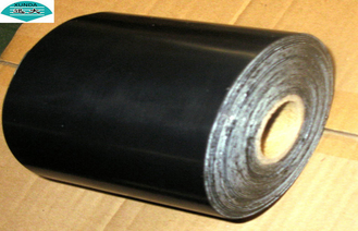 Corrosion Protection Pipelines PVC Pipe Wrap Tape with Butyl Rubber / Bitumen Adhesive