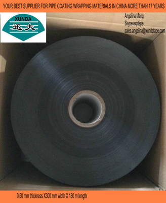 Anticorrosive Water Pipe Insulation Tape with Polyethylene Film and Butyl Rubber Adhesive