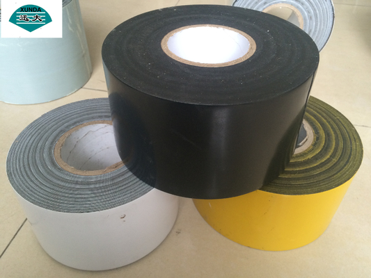 China Corrosion Protection Materials Pipe Wrap Tape Black or White for Underground Steel Pipeline supplier