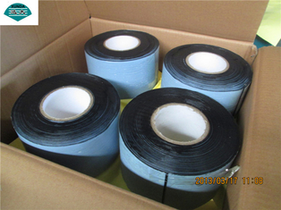 Gas Water Oil Pipeline PVC Wrapping Tape for Steel Pipe Corrosion Resistant Coating