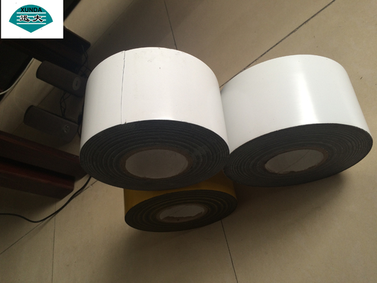 White Butyl Rubber Adhesive PVC Pipe Wrapping Tape for Pipe Coating Material