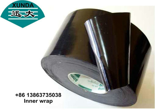 China PE 150mm Width Pipe Corrosion Protection Tape Inner Wrapping Tape supplier