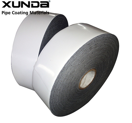 China PE Gas Pipe Insulation Tape , Black / White Color Wrapping Tape For Pipe factory