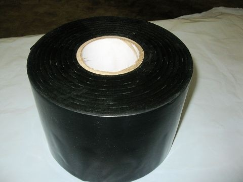 China Black Anti Corrosion Pipe Wrap Tape Corrosion Resistant Coating Material for Industrial factory