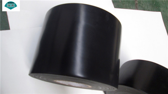 China Black Oil Pipe Coating Tape for Gas Pipeline , Anti Corrosion Protective Systems Tapes factory